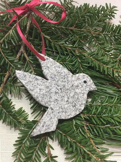 """""""Serenity"""" Dove ornament"""
