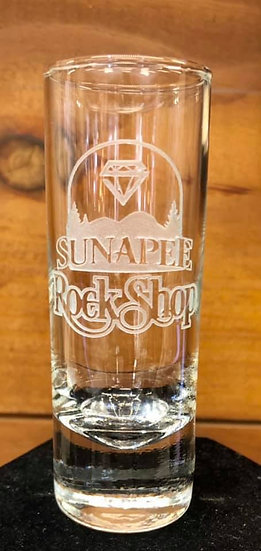 Sunapee Rock Shop Shot Glass