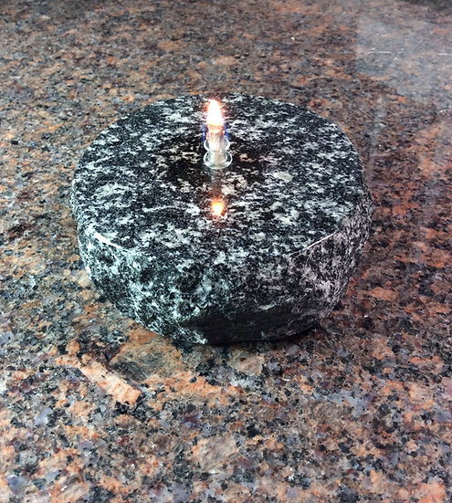 MiniFlames NH Black Pearl Granite