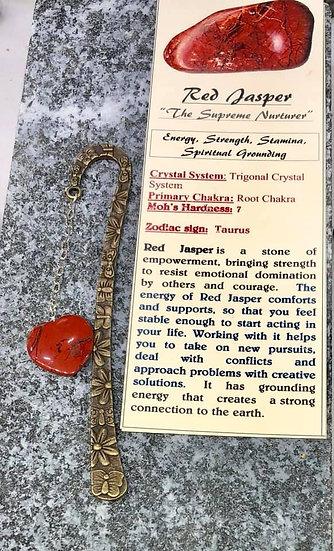 Bookmark Red Jasper
