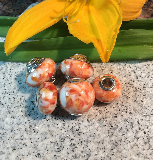 Beads of the Seas-Orange Spiny Oyster