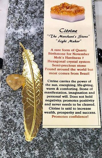 Bookmark Citrine