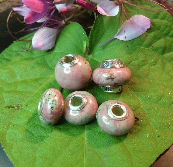 Beads of Washington Thulite