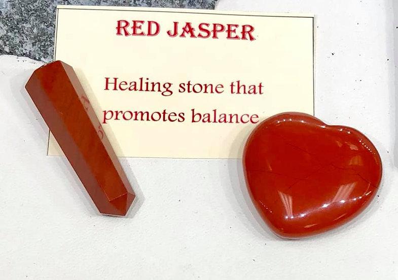 Red Jasper Pair