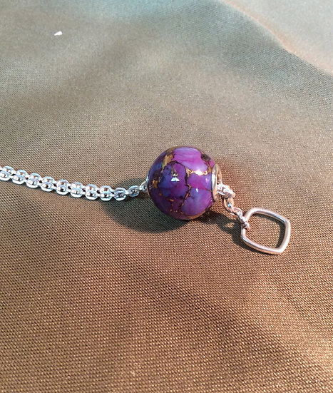 AZ Bronze Infused Purple Turquoise M16