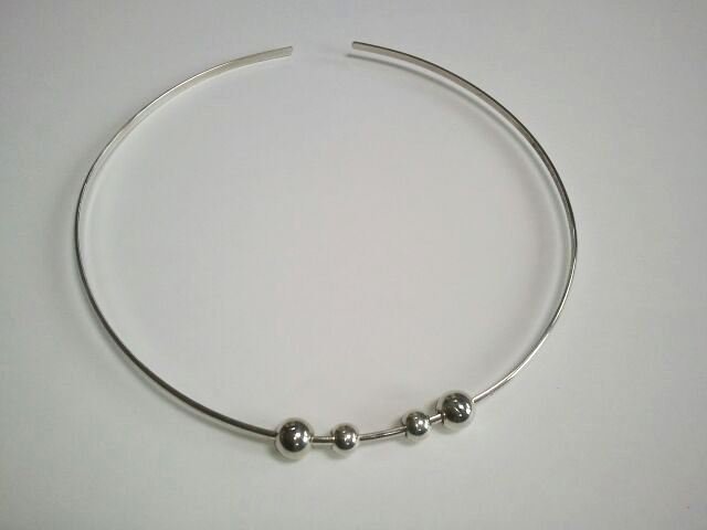 Sterling Silver Neck Cuff