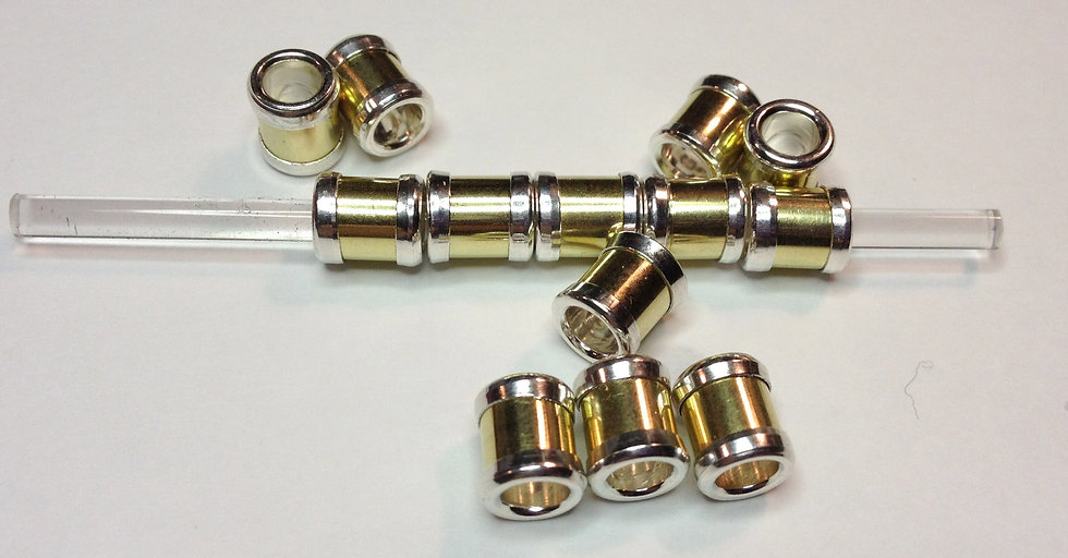 Brass & Sterling Spacer