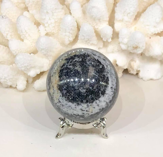 NH Black Pearl Granite Sphere
