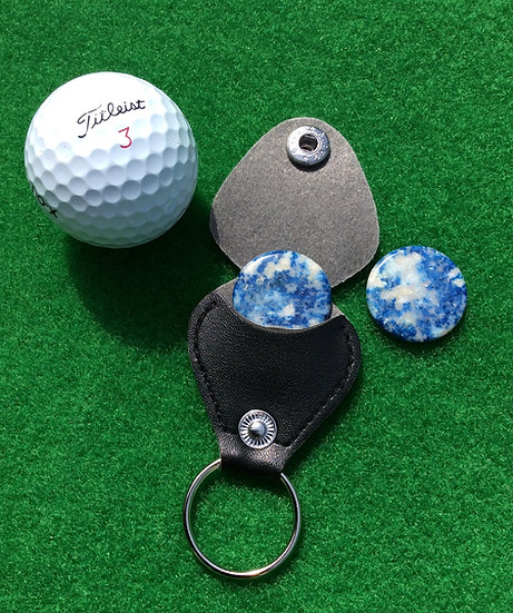 Golf Ball Marker - NH Scorzalite!