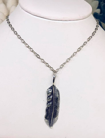 Feather Build-a-Bead Necklace