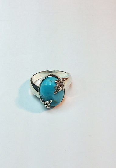 Cabber Leaf Ring - Premium stones