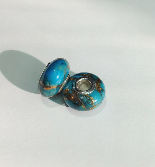 Bronze Infused Kingman Turquoise A