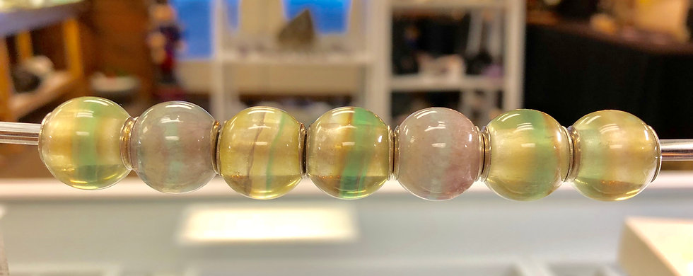 Secret Santa Bead - Golden Fluorite