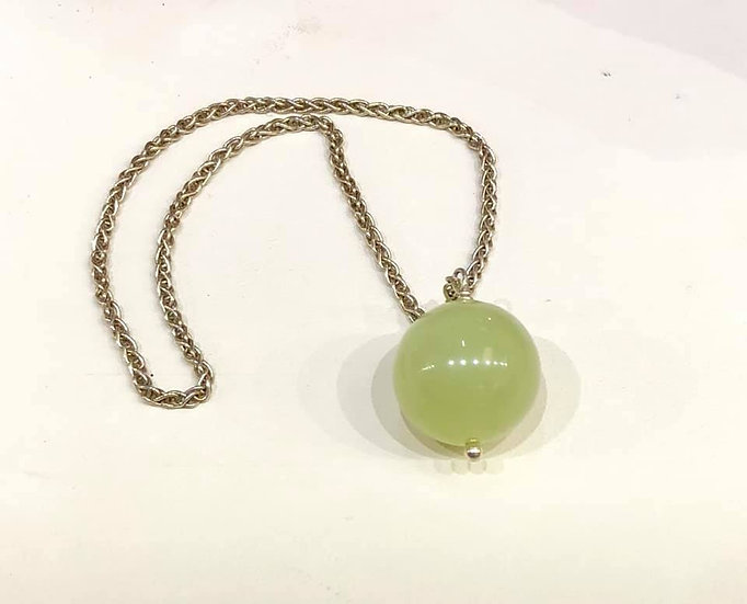 Pendulum Green Chalcedony