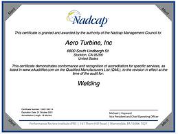 Nadcap Welding - AC7110