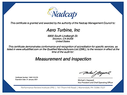 Nadcap Measurement and Inspection - AC7130