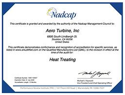 Nadcap Heat Treating - AC7102