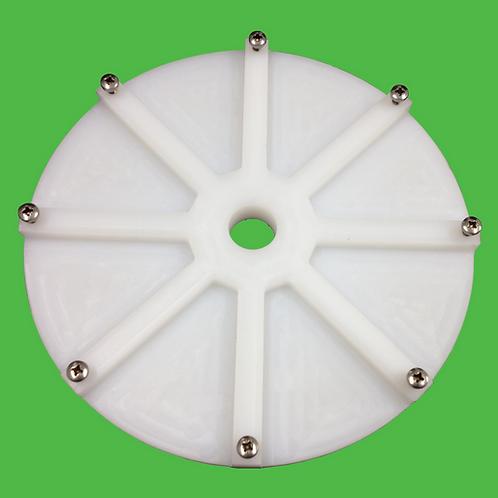 Grinder Blade Plastic Backing Plate