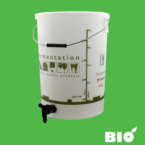 Bio Mark 5/6/7 25 Litre Juice Collection Bucket With Tap