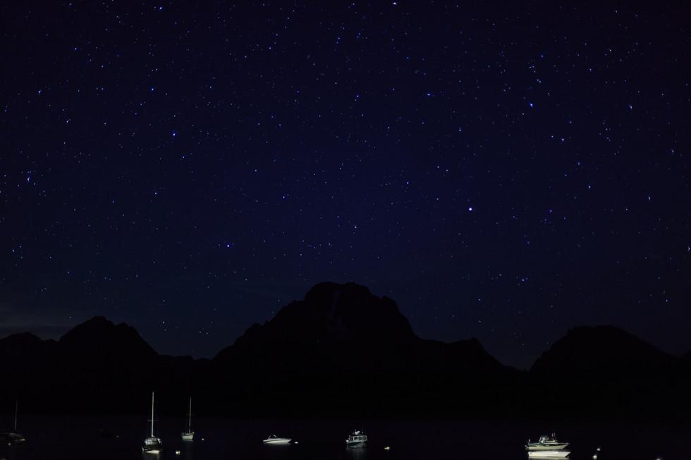 Under a Starry Sky