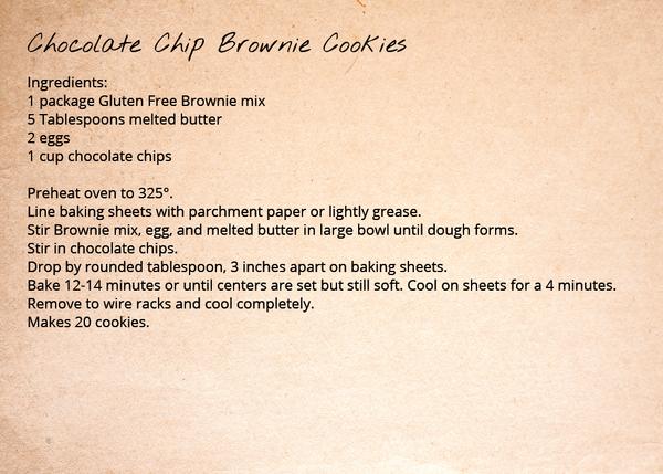 Brownie Mix - Chocolate Chip Brownie Cookies