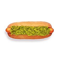 Hot Dog 'n' peas
