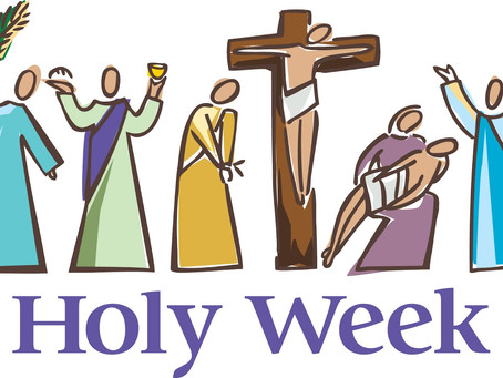 Holy Wednesday: Jesus on the Move!