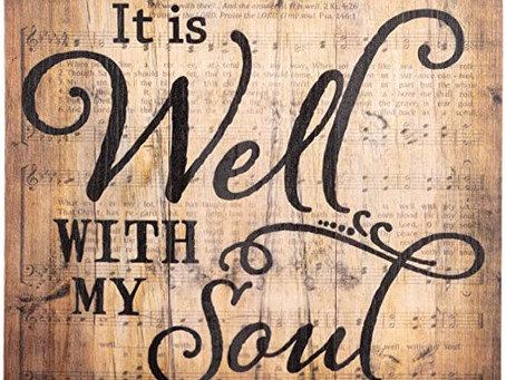 "Prayer Primer: ""It is Well with My Soul"""