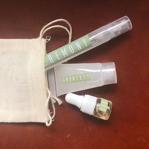 7 Protectors Sanitizer Sample Kit