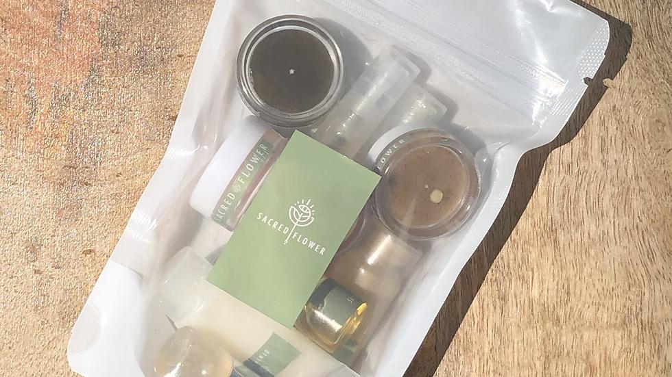 Sacred Flower Luxury Skincare Sample Set