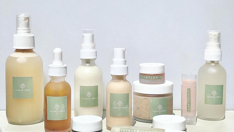 Sacred Flower Luxury Skincare Set