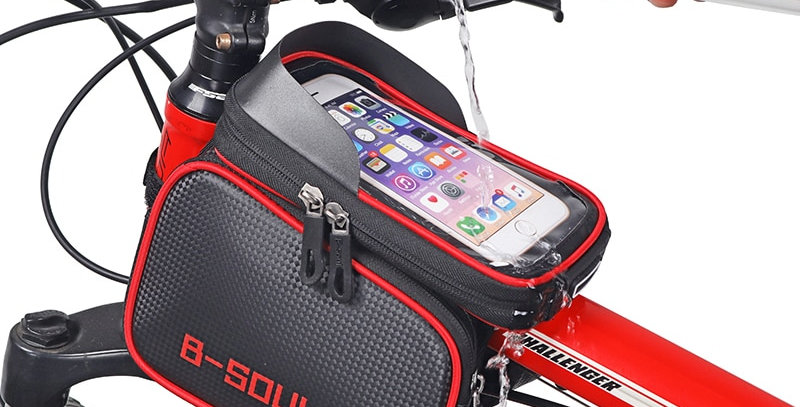 4 Types Bicycle Bags Bicycle Front Touch Screen Phone Bag