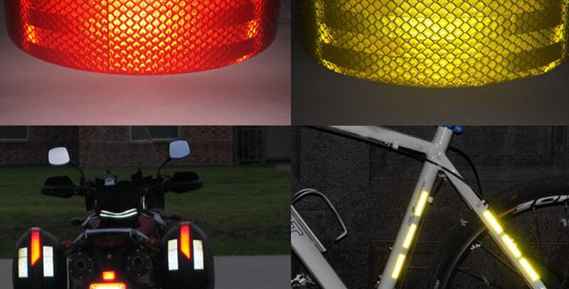3M Reflective Tape Sticker for Bicycle Protection