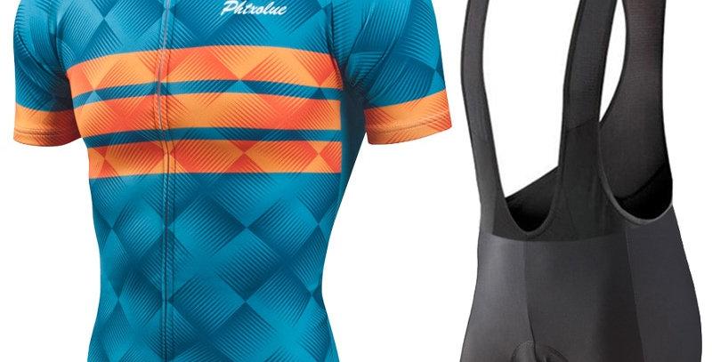 Phtxolue Cycling Clothing Men Cycling Set