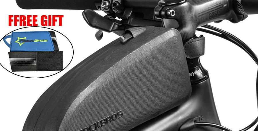 ROCKBROS Cycling Bike Bicycle Top Front Tube Bag Waterproof Frame Bag