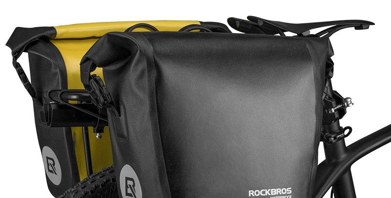 ROCKBROS Bicycle Bag Waterproof 10-18l Portable Bike Bag Pannier