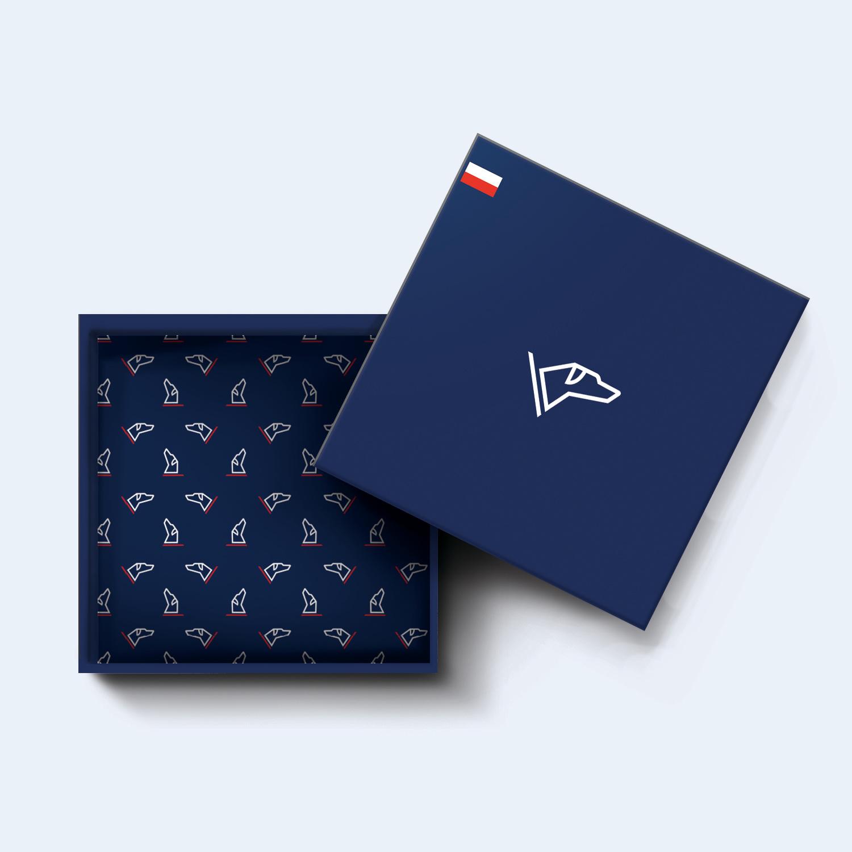 box logo et motif Romier Nantes