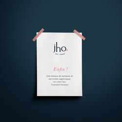 Identité visuelle et logo Jho Nantes