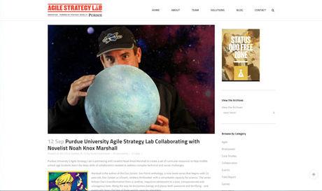 Noah Knox Marshall; Agil Strategy Lab