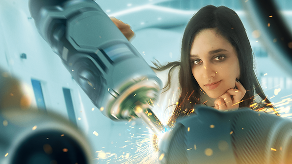 Amira was born to be an engineer. Her amazing inventions will prove invaluable to the mission.