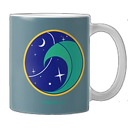 Enjoy some out of this world coffee in your beautiful Sea Patrol mug! Find it at Teepublic dot com!