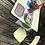 Thumbnail: Table de cuisine en formica jaune + 2 chaises assorties