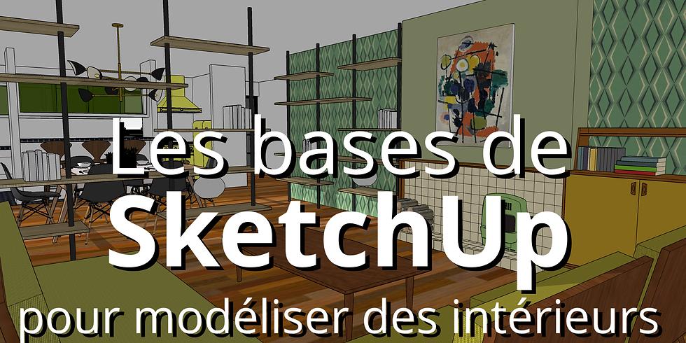 Les bases de SketchUp pour modéliser des intérieurs