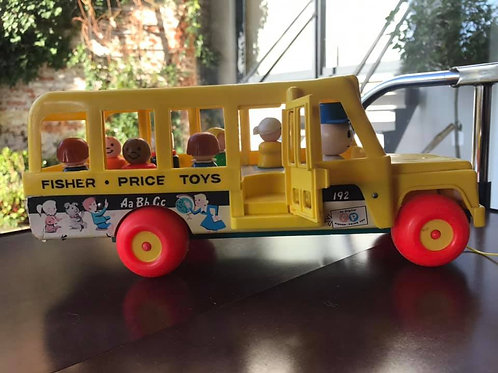 Bus scolaire Fisher Price