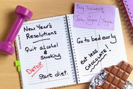 "SAY ""NO"" TO NEW YEAR'S RESOLUTIONS"