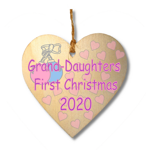 Grand-Daughters First Christmas-
