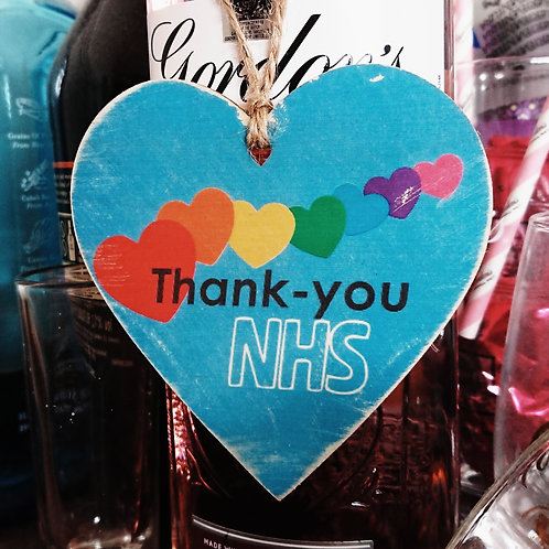 Thank you NHS - With your Photo
