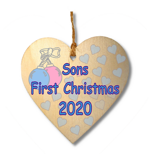 Sons First Christmas-