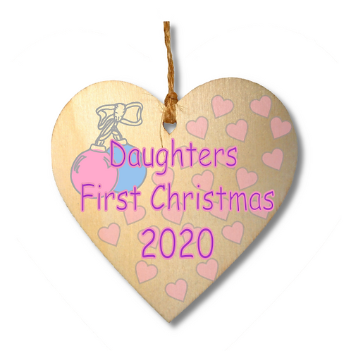 Daughters First Christmas-