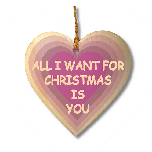 All I Want For Christmas (Pink)-